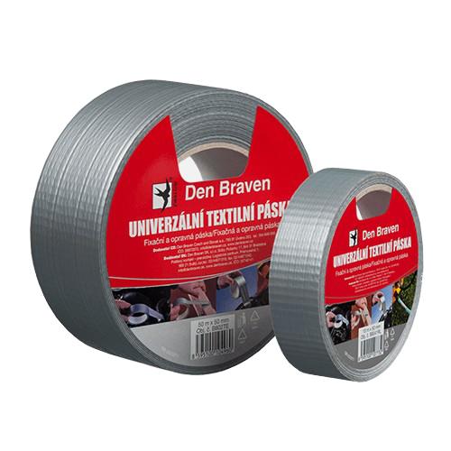 Páska textilní DEN BRAVEN univerzální 50mm x 25m