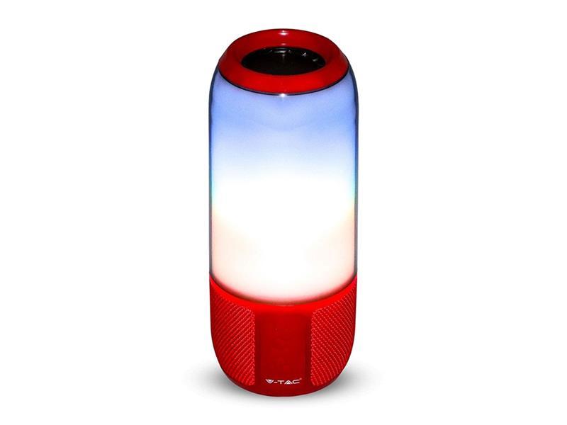 Reproduktor Bluetooth V-TAC VT-6211 červená