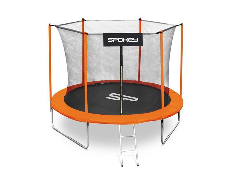 Trampolína SPOKEY JUMPER II 305cm černo-oranžová