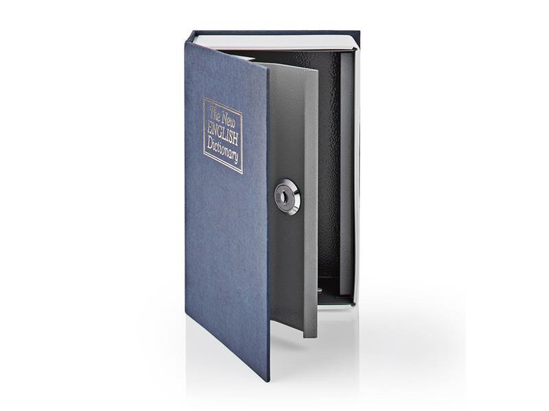 Trezor ve tvaru knihy NEDIS BOOKSEDS01BU