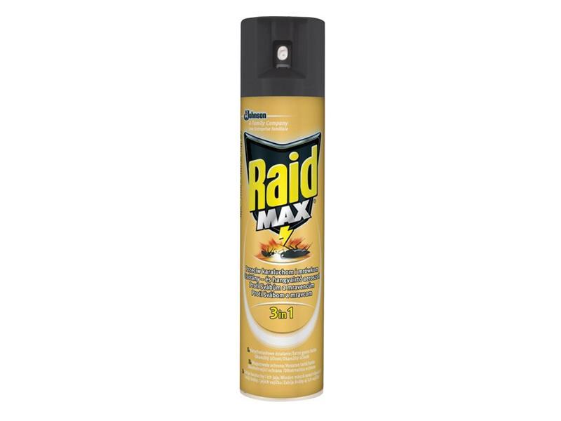 RAID MAX proti švábům a mravencům 3v1 400ml
