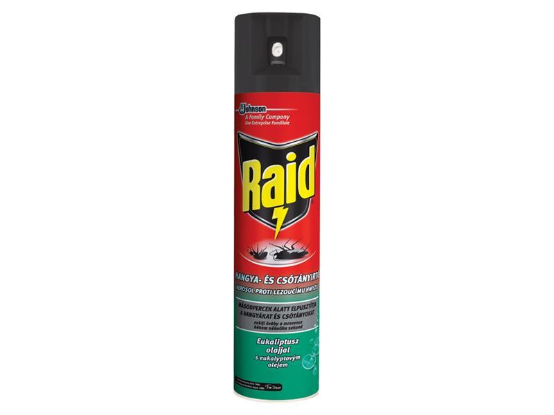 RAID proti lezoucímu hmyzu s eukalyptovým olejem 400ml