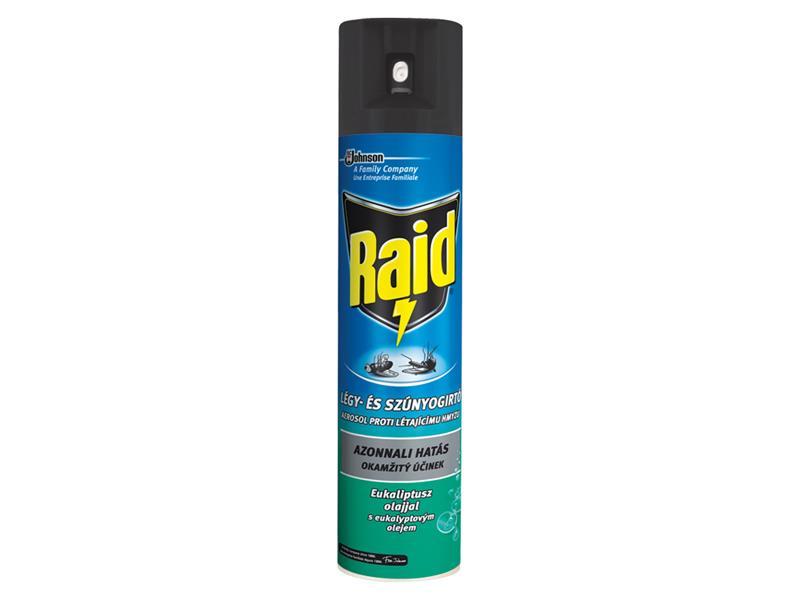 RAID proti létajícímu hmyzu s eukalyptovým olejem 400ml