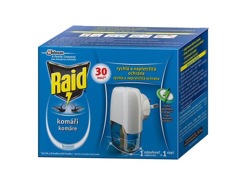 RAID elektrický odpařovač - s tekutou náplní 30 nocí 21ml