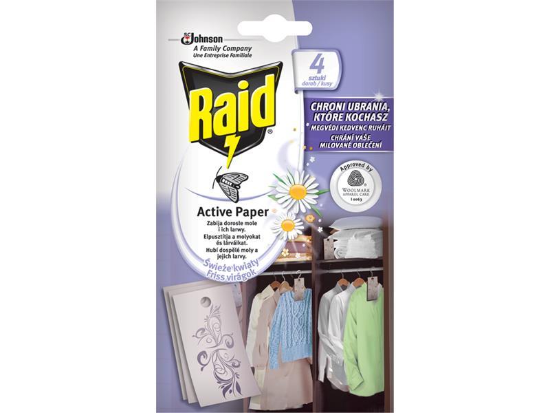 RAID proti molům - aktivní závěs čerstvé květy 4ks