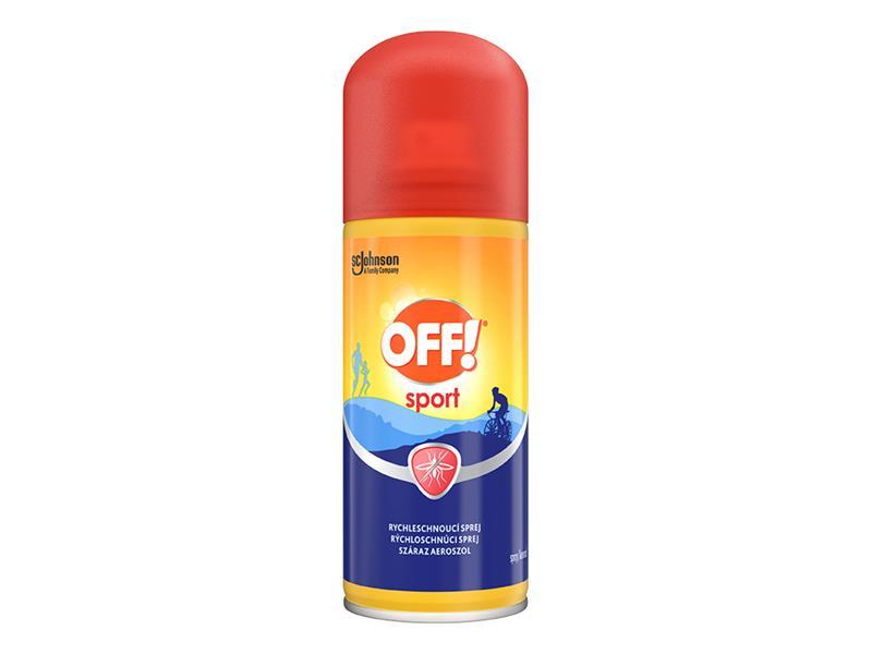 OFF! Sport - rychleschnoucí sprej 100ml