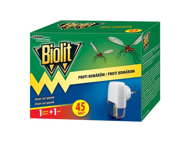 BIOLIT elektrický odpařovač - s tekutou náplní 45 nocí 27ml