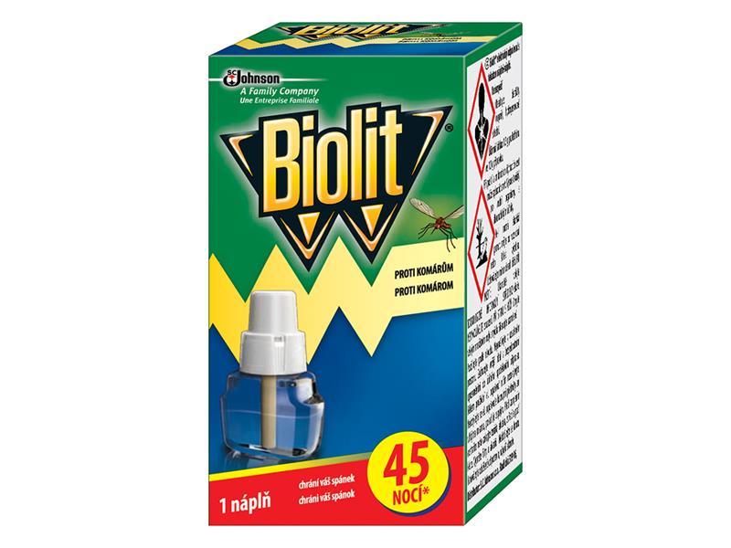 BIOLIT tekutá náplň do elektrického odpařovače 45 nocí 27ml
