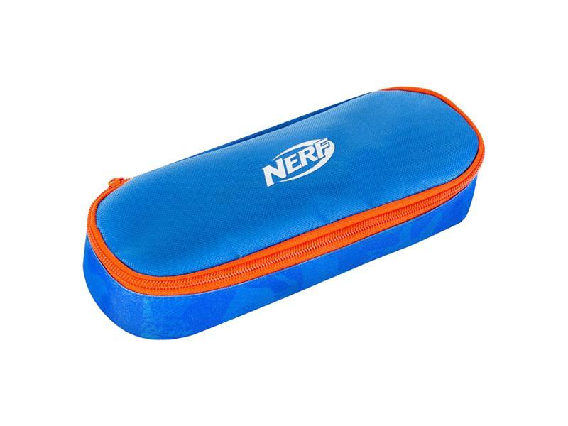 Etue s klopou HASBRO CHEST NERF modro-oranžové
