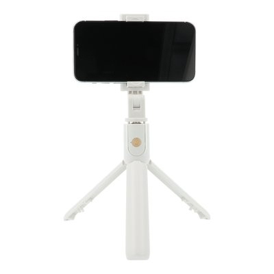 Selfie držák se stativem K07 bílý