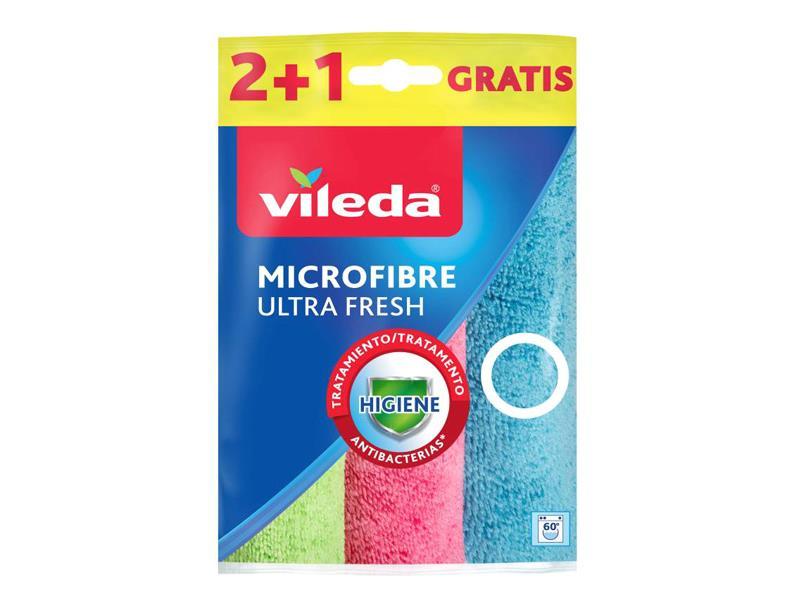 Mikrohadřík VILEDA ULTRA FRESH 167602 3ks