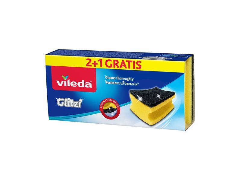 Houbička VILEDA GLITZI 148074 2+1ks