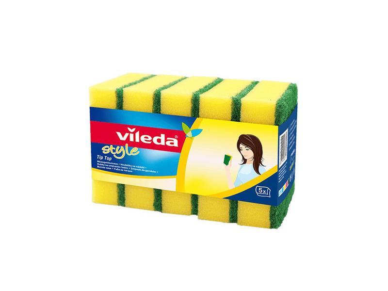 Houbička VILEDA STYLE TIP TOP 106068 5ks