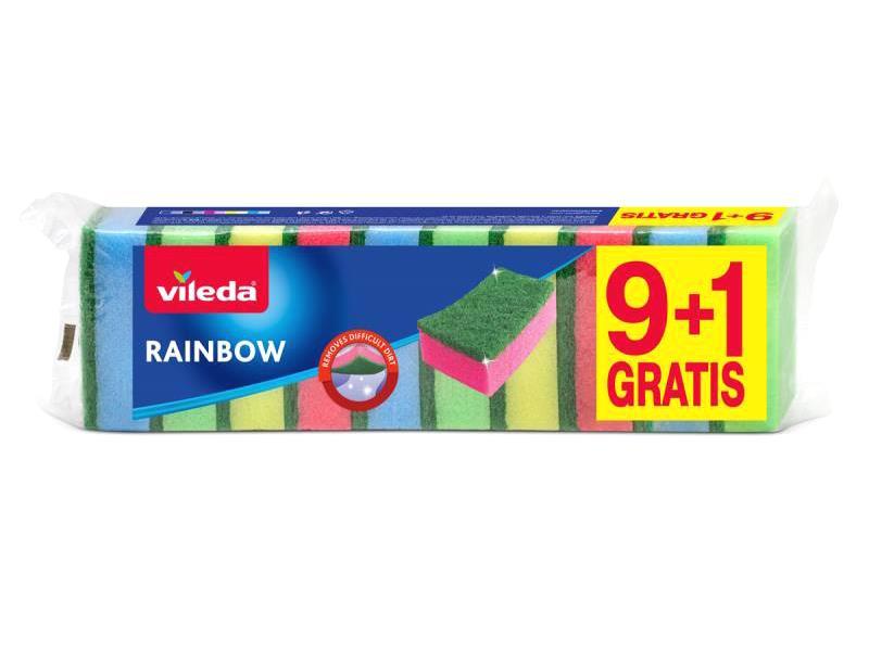 Houbička VILEDA RAINBOW 146920 9+1ks