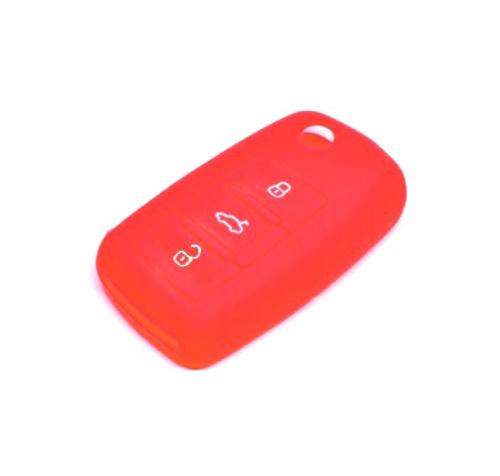 Obal na klíče ŠKODA FABIA I 1999 - 2008 RED silikon