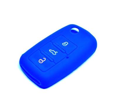 Obal na klíče ŠKODA FABIA I 1999 - 2008 BLUE silikon