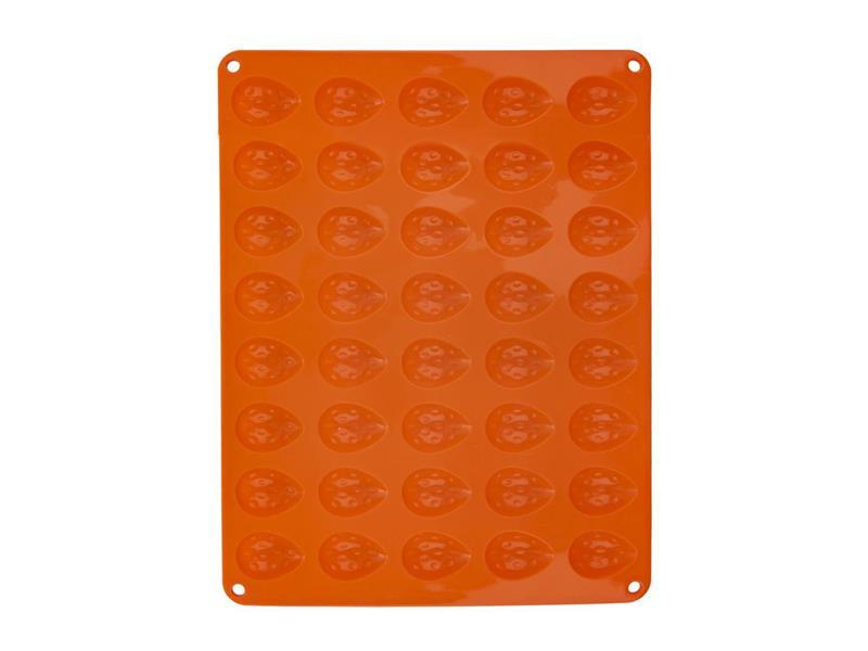 Forma ORION Ořechy silikon oranžová
