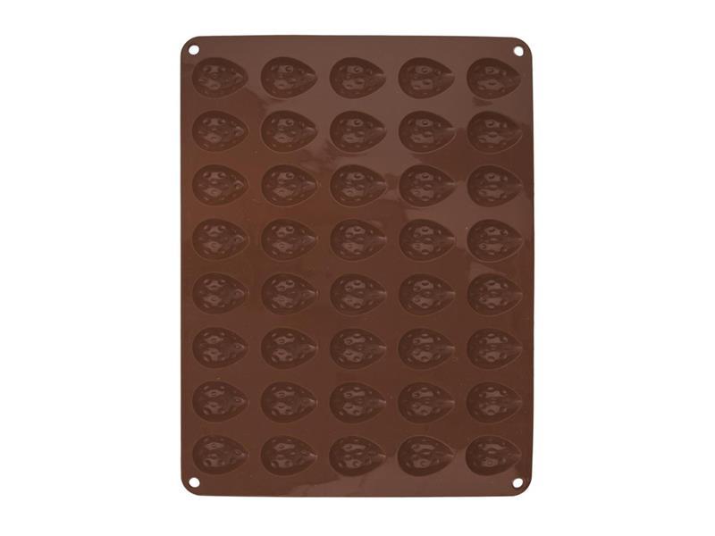 Forma ORION Ořechy silikon hnědá