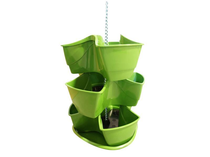 Květináč PROSPERPLAST COUBI zelený