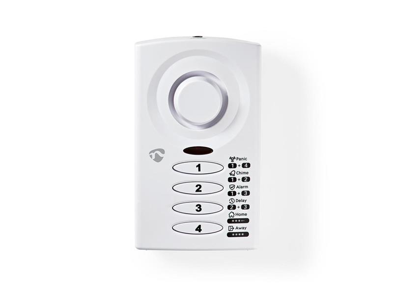 Alarm dveřní/okenní NEDIS ALRMD30WT