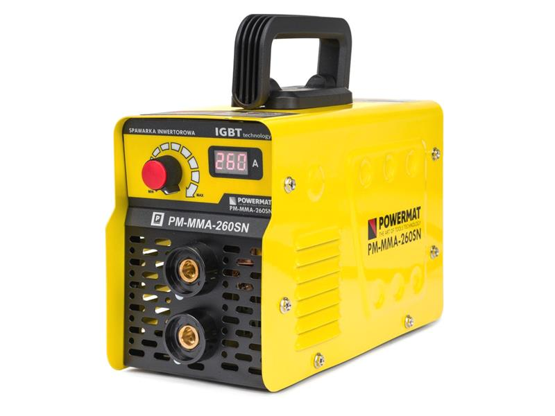 Svářecí invertor POWERMAT PM-MMA-260SN 260A IGBT