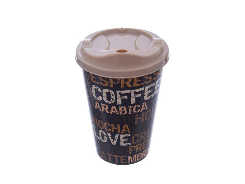 Kelímek s víčkem ORION Coffee 450ml