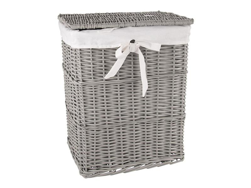 Koš na prádlo ORION šedý 45x35x56cm