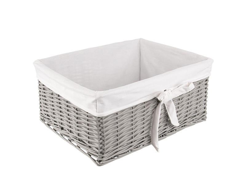 Koš na prádlo ORION šedý 52x41x23cm