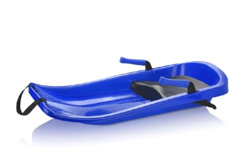 Dětský bob TEDDIES CHAMPION BLUE 85x40cm