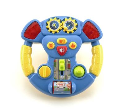Dětský volant TEDDIES se zvukem a světlem 16 cm