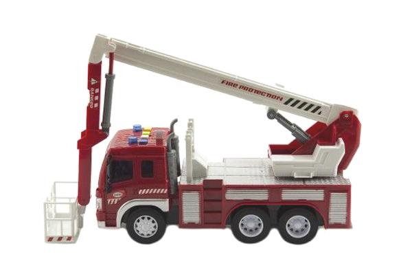 Dětské hasičské auto TEDDIES se světlem a zvukem 28 cm