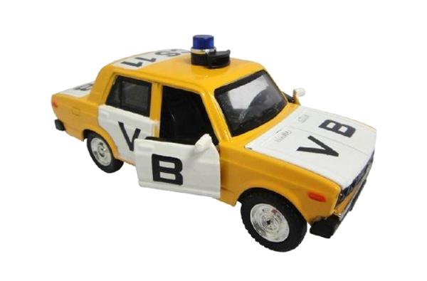 Dětské policejní auto TEDDIES VB LADA 1600 VAZ 2106 12 cm