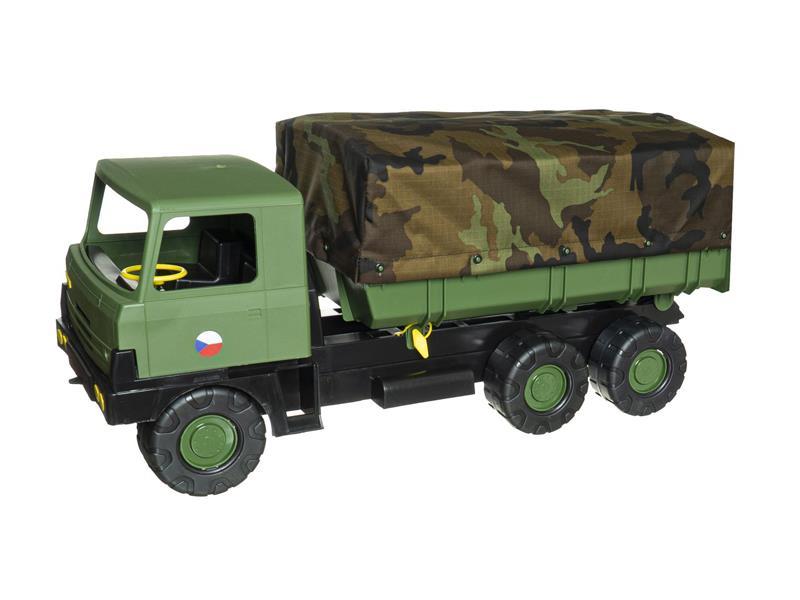 Dětské nákladní auto TEDDIES TATRA 815 s plachtou 75 cm