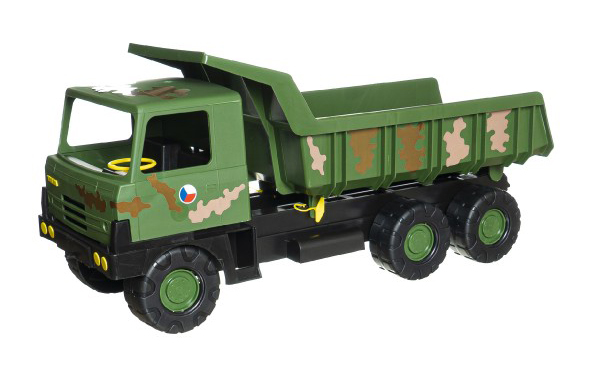 Dětské nákladní auto TEDDIES TATRA 815 maskované 75 cm