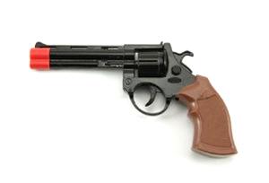 Dětská pistole TEDDIES na kapsle 23 cm