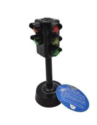 Dětský semafor TEDDIES se zvukem a světlem 12 cm
