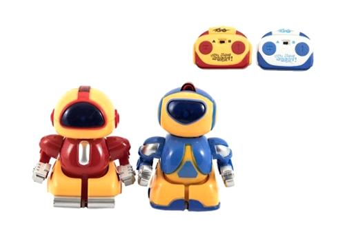 Robot TEDDIES se světlem 8 cm 2ks