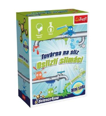 Dětská kreativní hra TREFL mini slizová fabrika