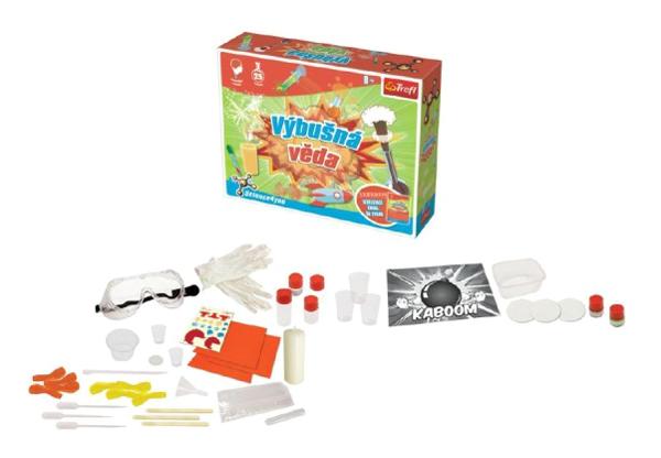 Dětská kreativní hra TREFL výbušná věda