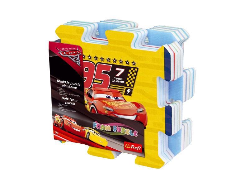 Dětské puzzle TREFL Cars 3 pěnové 8ks