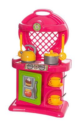 Dětská kuchyňka TEDDIES s příslušenstvím 12ks