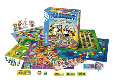 Hra stolní BONAPARTE Pohádkový soubor 9 her
