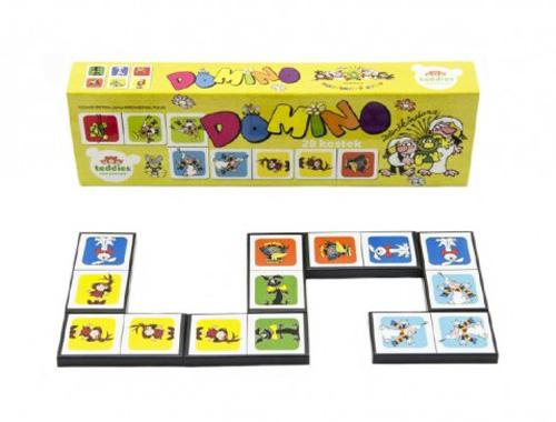 Dětské domino BONAPARTE Pojď s námi do pohádky 28ks