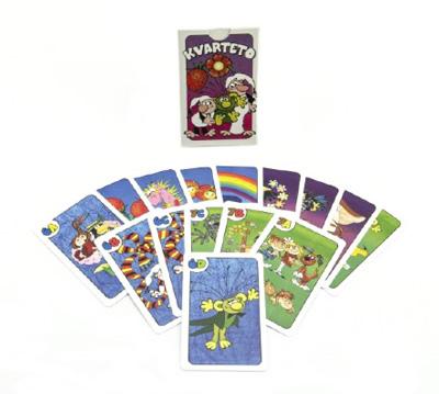Karetní hra BONAPARTE Kvarteto Pojď s námi do pohádky