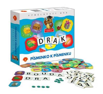 Hra vzdělávací PEXI Písmenko k písmenku