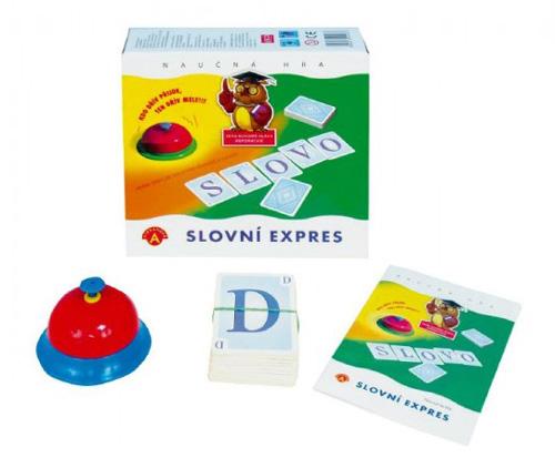 Hra vzdělávací PEXI Slovní expres