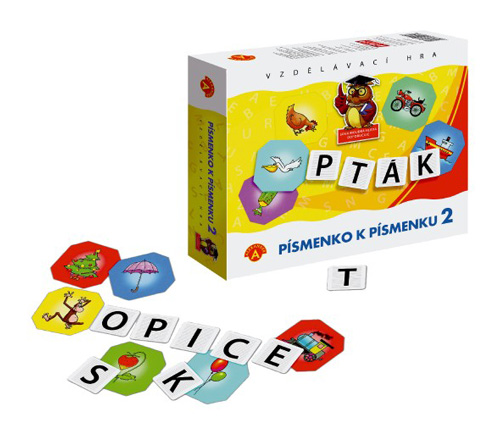 Hra vzdělávací PEXI Písmenko k písmenku 2