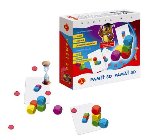 Hra vzdělávací PEXI Paměť 3D