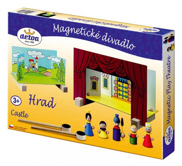 Divadlo DETOA Hrad magnetické dřevěné