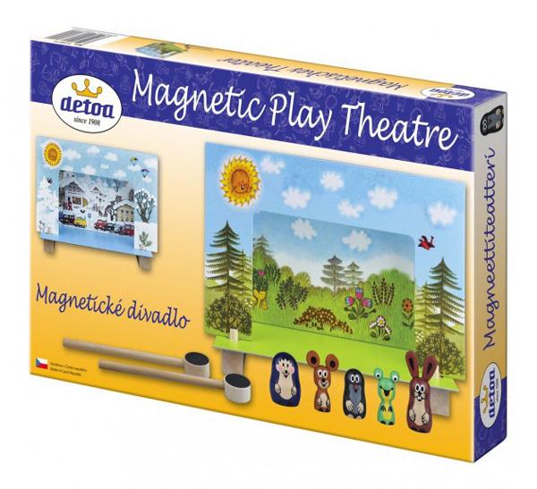 Divadlo DETOA Krteček magnetické dřevěné
